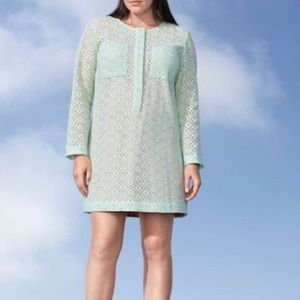 NWT Victoria Beckham for Target Mint Lace Dress 2X
